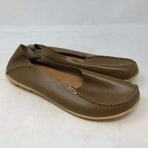 SOCOFY Big Size Soft Slip On Leather shoes 12
